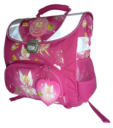 amaro Kinder Schulranzen Princess, pink, 35 x 38,5 x 17 cm, 3106-40_46