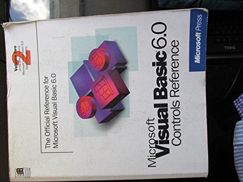 Microsoft Visual basic 6.0 controls reference ( volume 2) [Paperback] Unknown Microsoft Volume Control
