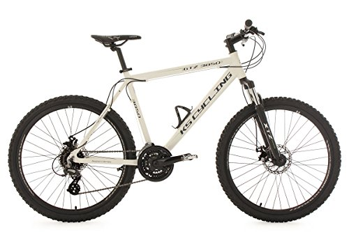 KS Cycling Fahrrad Mountainbike Hardtail MTB 26 Zoll GTZ weiß RH 51 cm, 346M