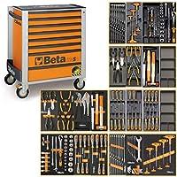 Beta C24SA - Carro de herramientas con sistema antivuelco y 191 piezas
