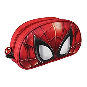 Spiderman-2100001982 Estuche portatodo con relieve 3d (Artesanía Cerdá 2100001982)