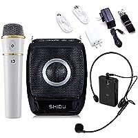 winbridge 25Watt Mini portatile ricaricabile Voice Amplificatore PA System con UHF Compact palmare senza fili microfono per karaoke, Insegnante, Viaggio testa, Trainer