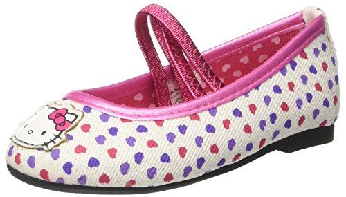 Hello Kitty  S15861haz, Chaussures souples pour bébé (fille) Bianco
