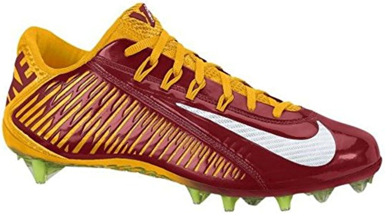 Nike Vapor Carbon Elite TD Mens Football Cleats 13.5  Red//yellow/White