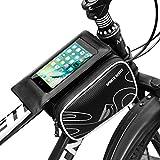 Wasserdichte Fahrrad Handytasche Mpow Fahrrad Handyhülle Fahrradrahmen Tasche für 5.7-zoll Mobiltelefon wie iPhone 7/6/5/4, Samsung HUAWEI Sony Nokia usw.