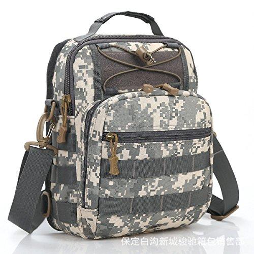 BULAGE Paket Farbe Große Kapazität Mode Sport Schulter Brust Tasche Militärische Fans Tarnung Outdoor Freizeit Diagonal Reiten A