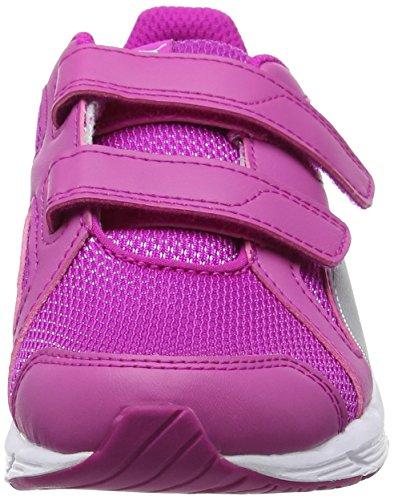 Puma Unisex-Kinder Axis V4 Mesh V Ps Low-Top Pink (ultra magenta-puma silver 06)