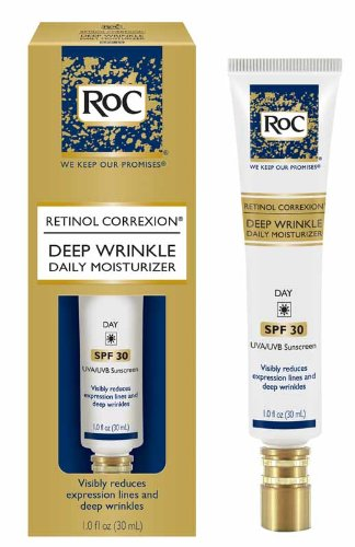 Deep Wrinkle Night Cream (Retinol Correxion Deep Wrinkle Daily Moisturizer With Sunscreen Broad Spectrum SPF 30 - 30ml/1oz)