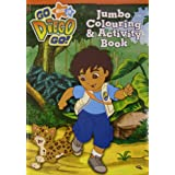 Nick Jr Go Diego Go: Jumbo Colouring & Activity Book