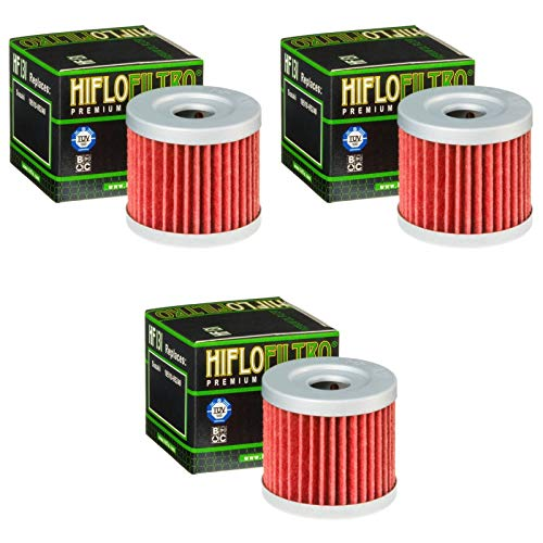 3x Ölfilter Kreidler Supermoto 125 DD 08-15 Hiflo HF131