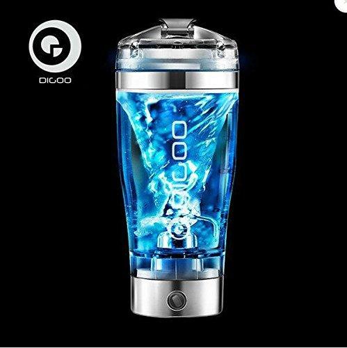 Mixer Flasche,Digoo DG-VX1 Tragbarer Auto/Elektro Mixer Becher Tasse für Säfte Cocktails Kaffee Tee Rühren Protein Shaker Mixer Cup