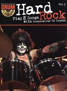 Drum Play-Along Volume 3: Hard Rock. Partitions, CD pour Batterie