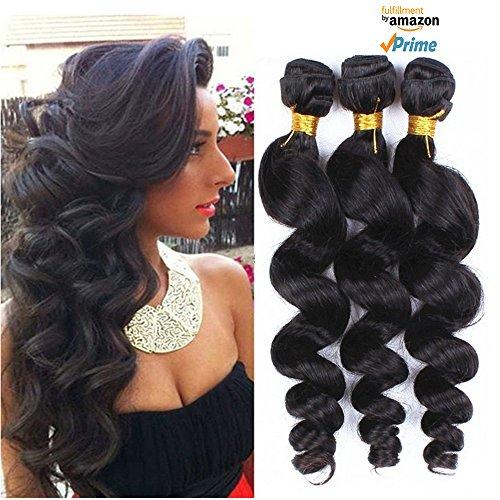 Morningsilkwig loose Wave Perruques 1B# cheveux brésiliens cheveux Bon Marché Pour Femmes 100g par pièce