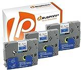 Bubprint 3 Schriftbänder kompatibel für Brother TZE-531 TZE 531 für P-Touch 1280 2430PC 2730VP 3600 9500PC 9700PC D400VP D600VP H100LB H105 P700 P750W