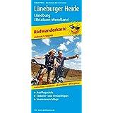 Radwanderkarte Lüneburger Heide - Lüneburg - Elbtalaue-Wendland: Mit Ausflugszielen, Einkehr- & Freizeittipps, reißfest, wetterfest, abwischbar, GPS-genau. 1:100000