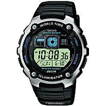 Casio Collection – Reloj Hombre Digital con Correa de Resina – AE-2000W-1AVEF