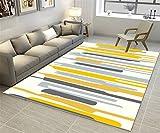 GXSCE-Teppich rutschfester Teppich, geeignet für Tür/Schlafzimmer/Badezimmer Badezimmer/Wohnzimmer/Küche, Cosy & Soft Teppich, hohe Qualität und sehr langlebig