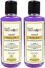 Khadi Organique Lavender & jasmine Bubble Bath(pack Of 2)