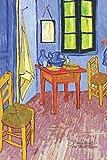Van Gogh's The Bedroom: Lined Notebook