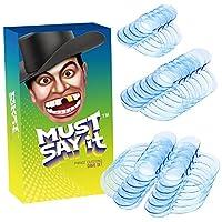 iRainy Wangenhalter Mundöffner Dental Lippe Mouth Opener klare blau, 10L+6M+4S, 20 Stücke