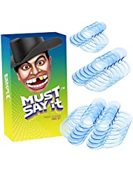 Protector Bucal, iRainy 20PcsC-Forma Abrebocas Dental para la Boca para Speak out Game and Watch ya Mouth