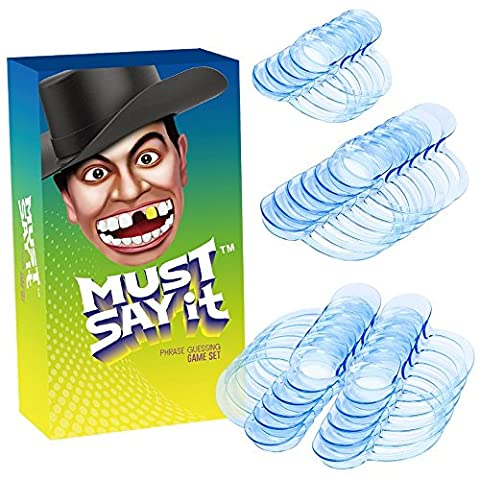 Mouth Guard Game, iRainy 20 Pcs C-Shape Whitening Intraoral Cheek Lip Retractor Mouth Opener for Phrase Challenge