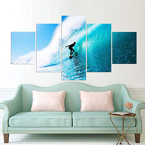 Material: resaltado, mate, tela de fibra química a base de agua  Tamaño: 40x60cmx2 40x80cmx2 40x100cmx1 (16x24inchx2 16x32inchx2 16x40inchx1)  Espacio aplicable: una pared perfecta decoraciones pinturas para sala, comedor, dormitorio, cocina, oficina...