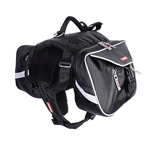 EzyDog Summit Hunde-Rucksack, Größe XL, schwarz