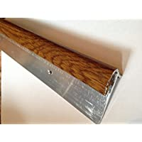 Dural stepfloor nogal efecto perfil para rosca de aluminio escalera 0,9M; Para 14–16mm de grosor flooring código; stfaf1456–90cm