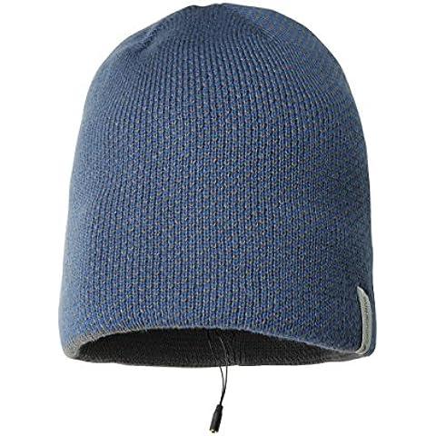Cellular Line Music Cap - Gorro con auriculares (3.5 mm), color azul