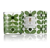 Orla Kiely Basil and Mint Scented Candle, Green, 200 g