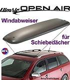 Climair Dach-Windabweiser für Schiebedach 05-5582, Farbausführung: rauchgrau