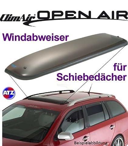 Climair Dach-Windabweiser für Schiebedach 05-5313, Farbausführung: rauchgrau