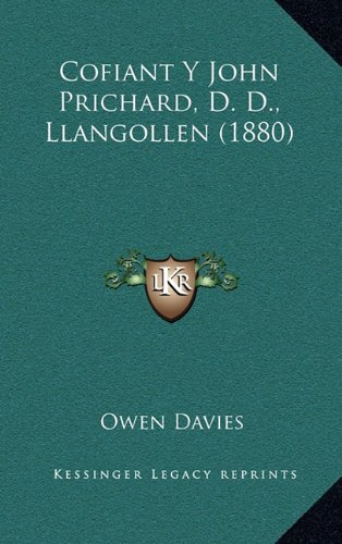 Cofiant y John Prichard, D. D., Llangollen (1880)