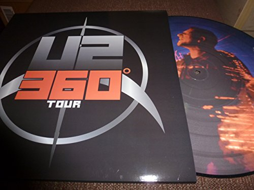 LP.33T .PICTURE. U2 360 DEGRE TOUR.LIVE.USA SPARTAN 26/06/2011 . FAN CLUB USA 500 COPIES (U2 360 Tour)