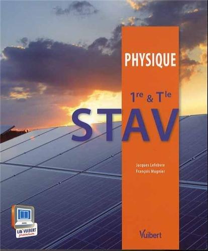 Physique 1re & Tle STAV - Nouveau pr...
