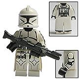 Custom Brick Design CBD Clone Trooper der Gar V.2 Figur Gefertigt aus Custom & Lego Star Wars Teilen