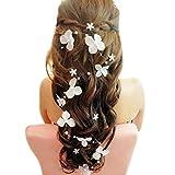 Haarschmuck Hochzeit - Brawdress - Blume Gefälschte Perle Stirnband - Brautschmuck - Stirnband damen