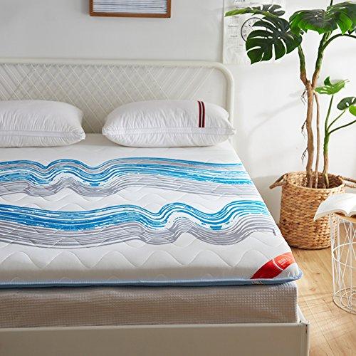 Roll Bett Matratzenauflage, Premium Memory-Schaum Futonbett Portable Matratze Folding Dauerhaft Weich Topper Matratze-c 120x200x6cm ()