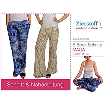 Amazon.de: SCHNITTMUSTER, Hosenrock, Marlenehose\