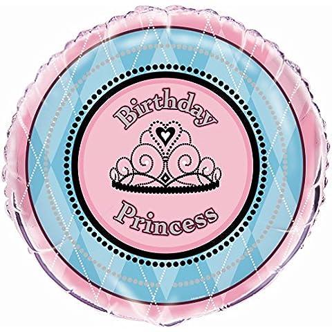 Partido Ênico de 18 pulgadas de la hoja del cuento de hadas de la princesa cumpleaños del globo