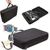Flycoo Sac à Main pour DJI OSMO Mobile 2 Housse Boîte Boîtier de Transport Antichoc Protection pour Accessoires Batteries Chargeur Cables