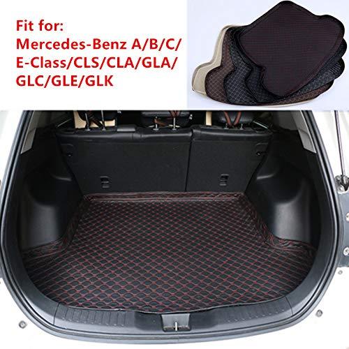 aoforz-Yobby Neue Kofferraummatte Für Mercedes-Benz A/B/C/E-Klasse W246 W205 W212 W213 GLA GLC CLA CLS GLE GLK Kofferraumwanne Teppich