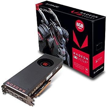 Sapphire Radeon RX Vega 56 8GB HBM 2 - Tarjeta Gráfica