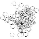 Anneaux de jonction pour la création de bijoux - Lot de 200 / 6 mm