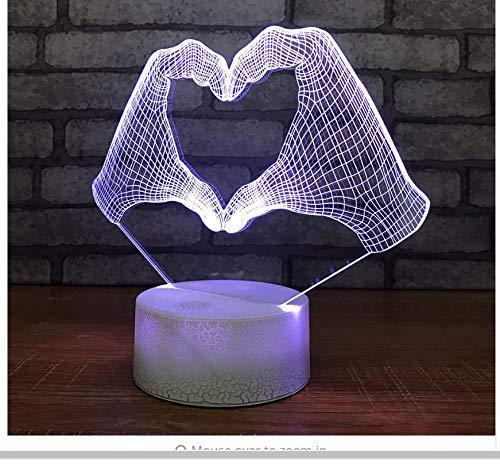 Babyzimmer acryl bett benutzerdefinierte 3d kleine nachtlichter weihnachtsschmuck geschenk für baby zimmer lichter großhandel usb Babyzimmer kinder lampe licht box