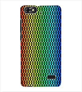 ColourCraft Hearts Pattern Design Back Case Cover for HUAWEI HONOR 4C