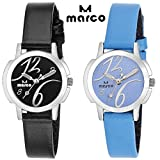 MARCO elite combo ladies 007 black blue ...