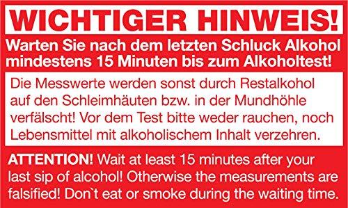 ACE AL5500 Alkoholtester, Schwarz