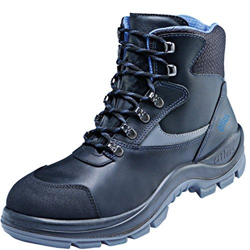 Atlas ESD Chaussures de sécurité Ergo de Med 737Large XP Blueline dans 10après en ISO 20345S3SRC de noir/bleu